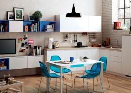Living - sala de estar - salon Easy de Scavolini
