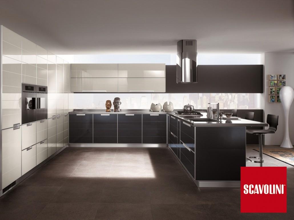 Cocina crystal cocina barcelona - Scavolini cucine moderne ...