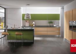 Cocina Scavolini Scenery verde