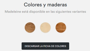 Cocina madeleine gama de colores