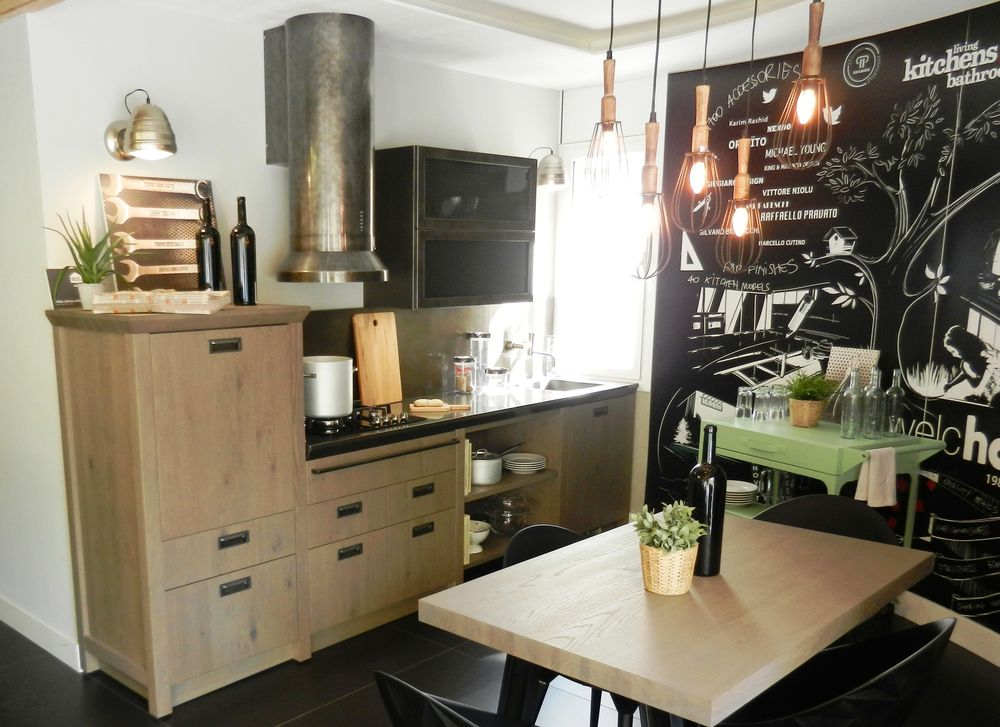 Cocinas de exposición en liquidación: Diesel Open Workshop ...