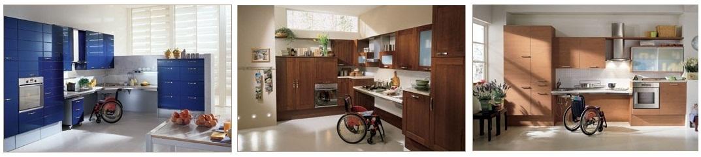 Cocinas para sillas de rueda
