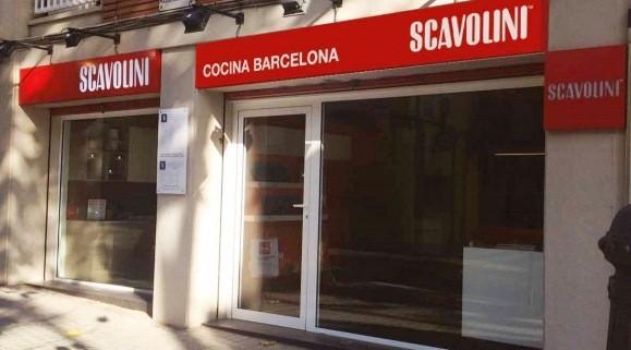 scavolini barcelona showroom