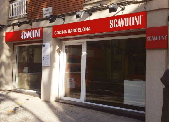 scavolini barcelona showroom