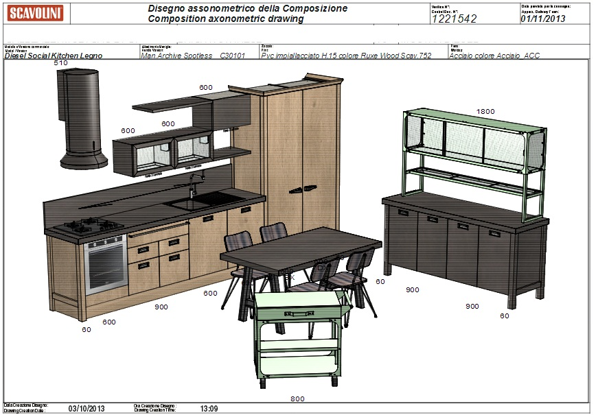 Muebles de cocina a medida - Cocina Barcelona