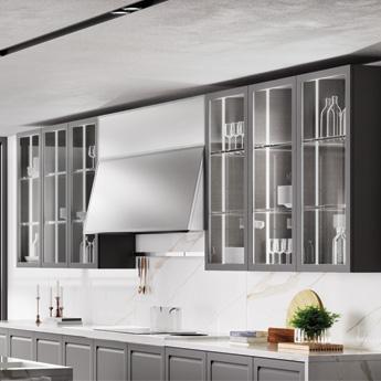 Cocina Carattere - luces integradas