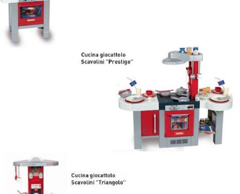 Cocinas de juguete Scavolini