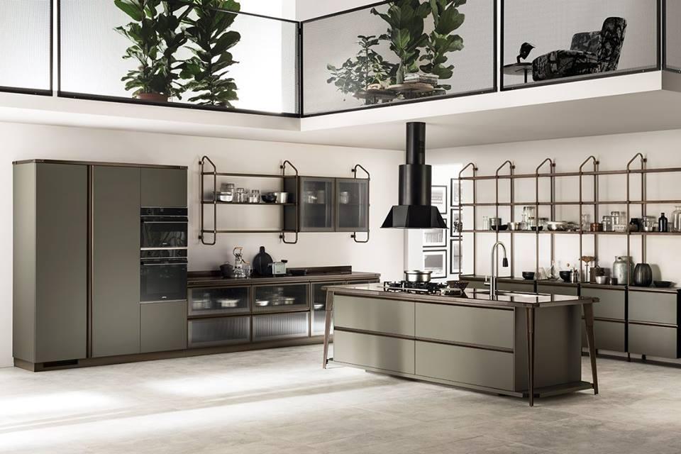 Cocinas de estilo industrial a la moda