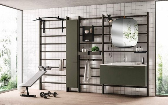 gym space scavolini
