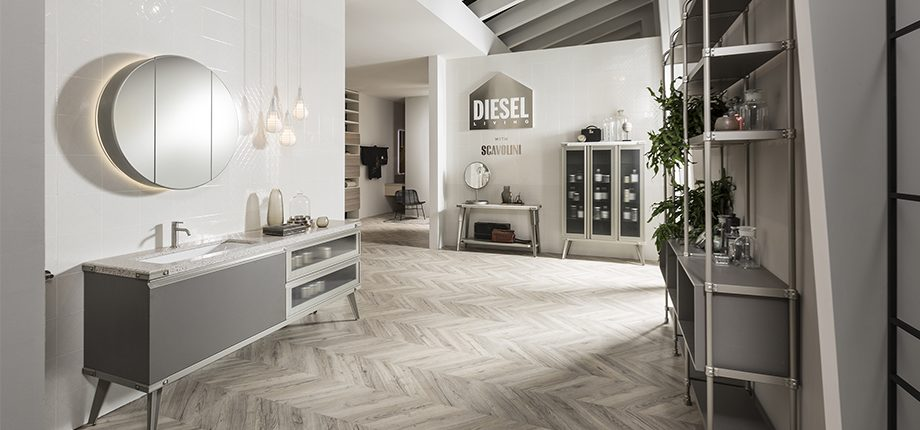 Diesel open Workshop Bathroom - Savolini
