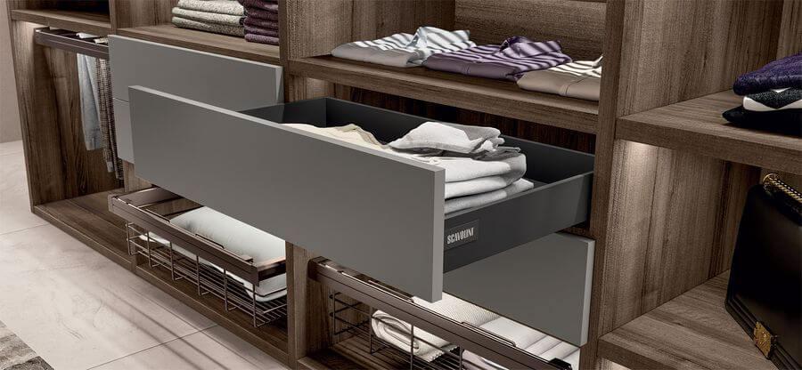vestidores para habitaciones de diseño