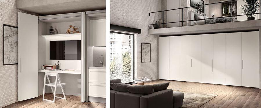 Por muy minúsculo que sea, con BOXLIFE se puede aprovechar el espacio en pisos, estudios o lofts.