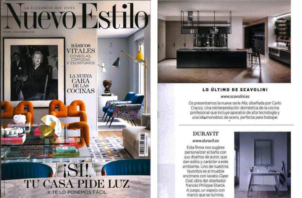 Revista Nuevo Estilo en su especial La nueva cara de las cocinas ...