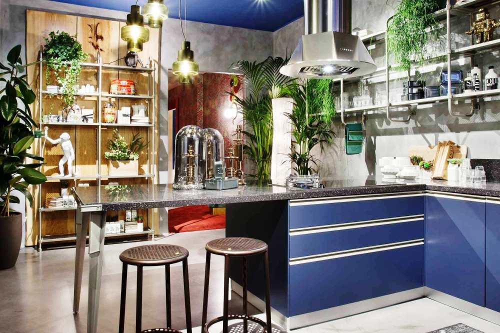 Cocina Scavolini modelo Open Workshop Diseño Diesel