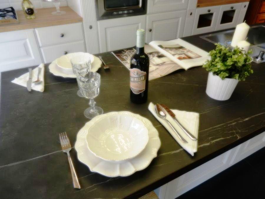 cocina baltimora exposicion encimera sapientone pietra grey