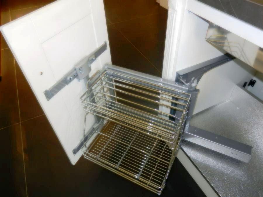 cocina baltimora exposicion accesorios extraibles limpieza