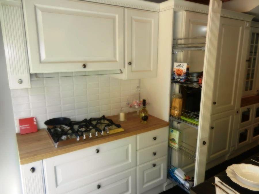 cocina baltimora exposicion mueble estanterias extraibles