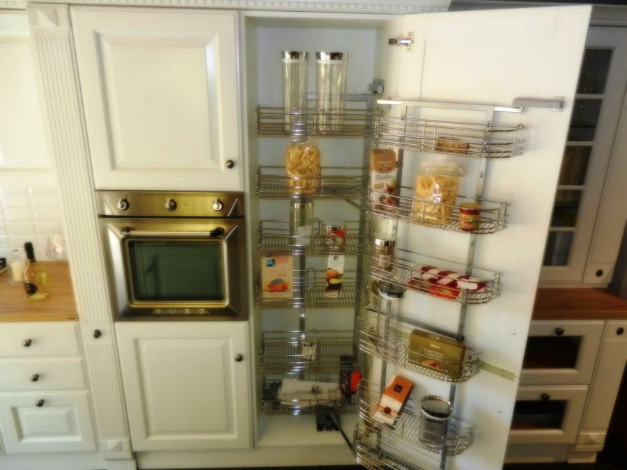 cocina baltimora exposicion mueble alto estanterias extraibles