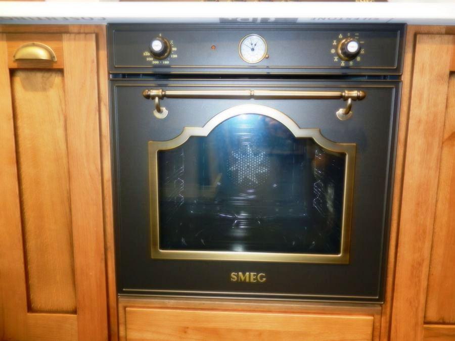 cocina favilla exposicion horno smeg