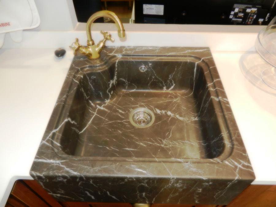 cocina favilla exposicion fregadero monobloque piedra grey
