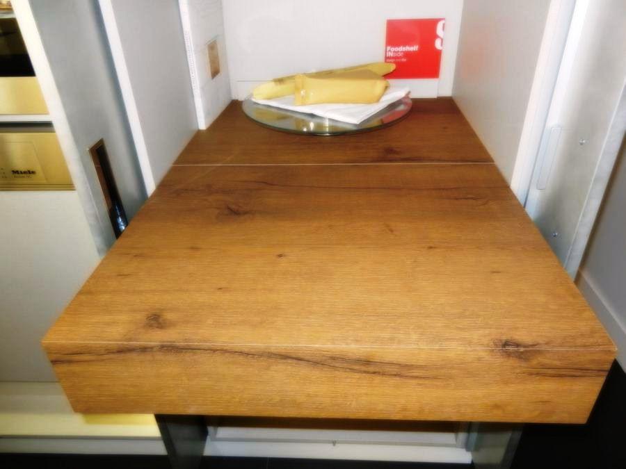 cocina foodshelf exposicion mesa de trabajos