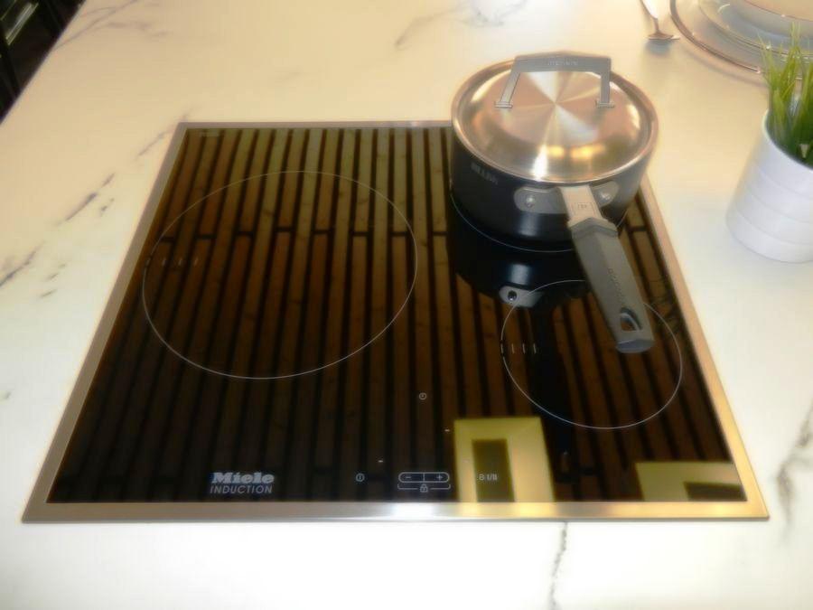 cocina foodshelf exposicion placa inducción miele