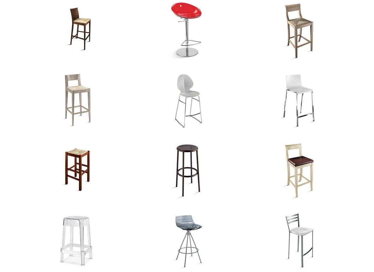 taburetes de diseño italiano scavolini