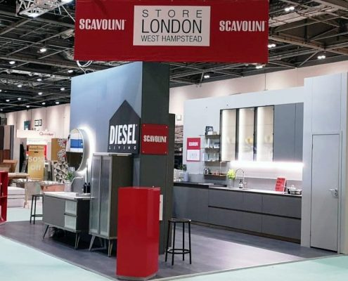 Grand Kitchens & Bathrooms - Grand Designs Live London - Scavolini