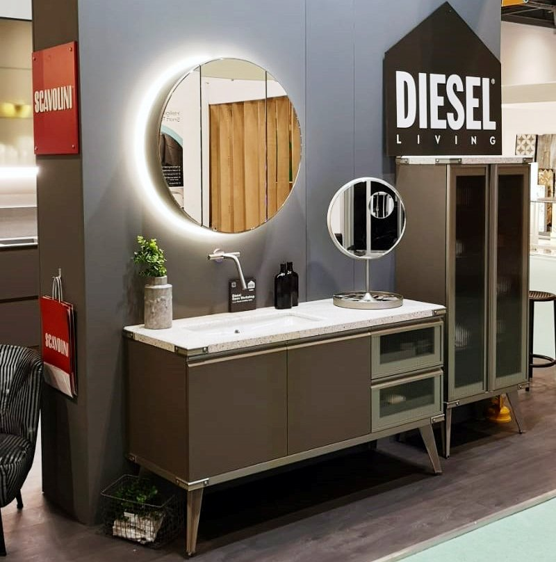Grand Kitchens & Bathrooms - Grand Designs Live London - Scavolini Diesel Bathroom