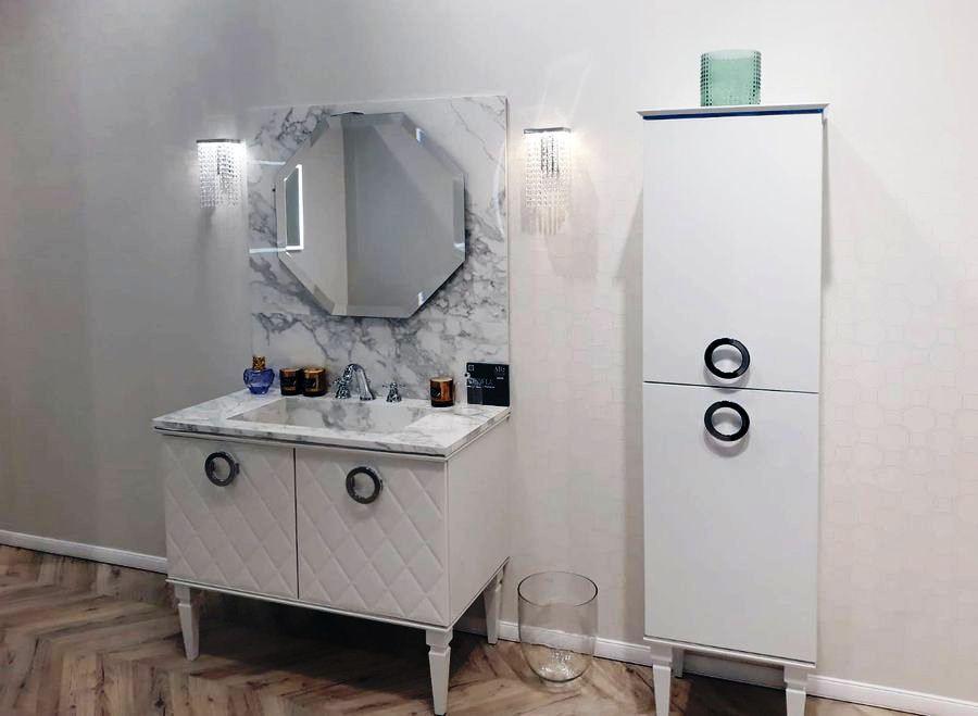 Mosbuild-Novedades en baños Scavolini Magnifica