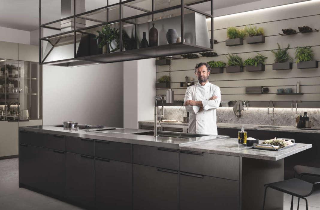 Carlo Cracco y la cocina Mia