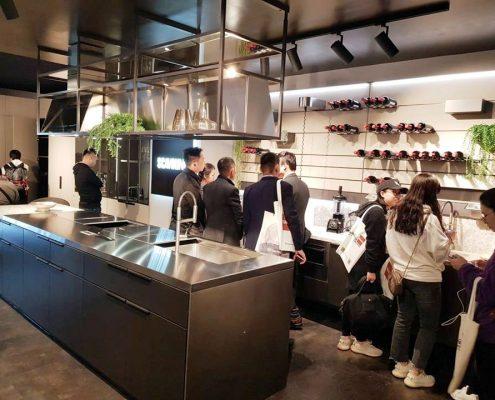 Cocina Mia Scavolini Salone del Mobile Milano Shanghai 2019