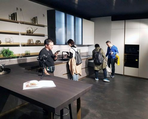 Cocina DeLinea Scavolini Salone del Mobile Milano Shanghai 2019