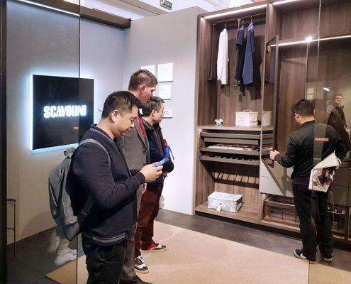 Vestidor Scavolini Salone del Mobile Milano Shanghai 2019