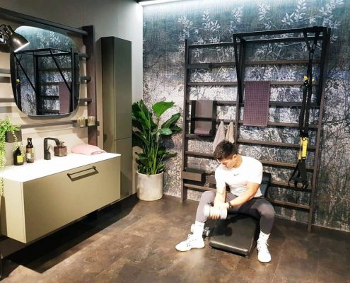 Gym Space Scavolini Salone del Mobile Milano Shanghai 2019