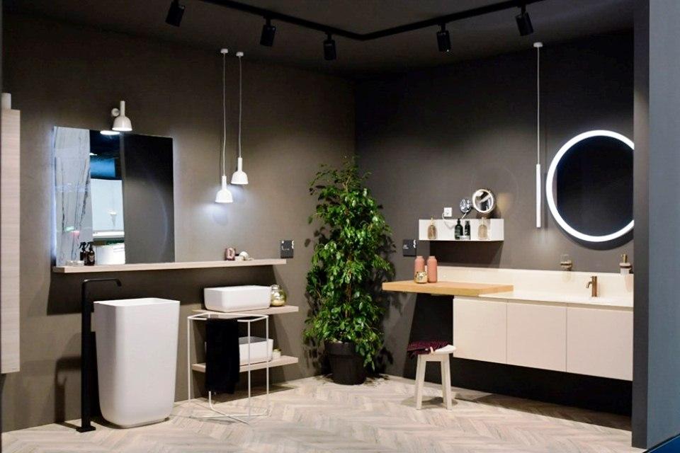 Novedades en Cuartos de baños presentadas por Scavolini en Ideobain