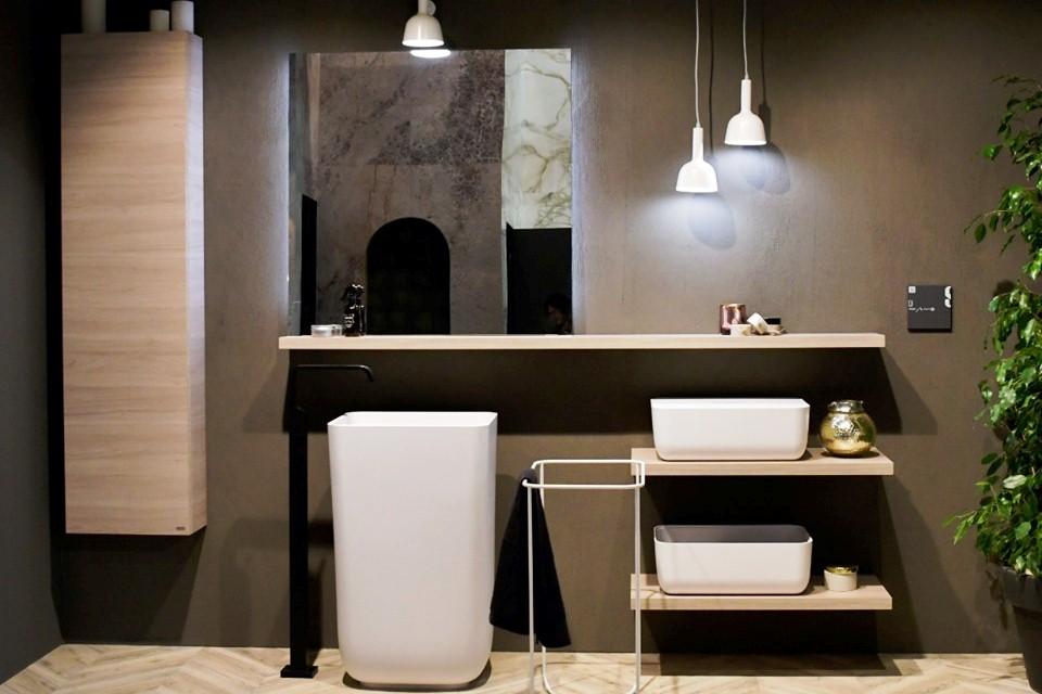 Baño Qi - Novedades en Cuartos de baños presentadas por Scavolini
