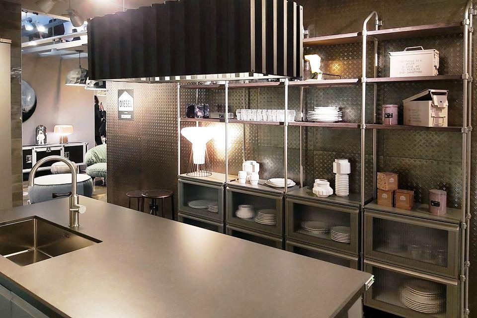 cocina Scavolini Diesel Open Workshop