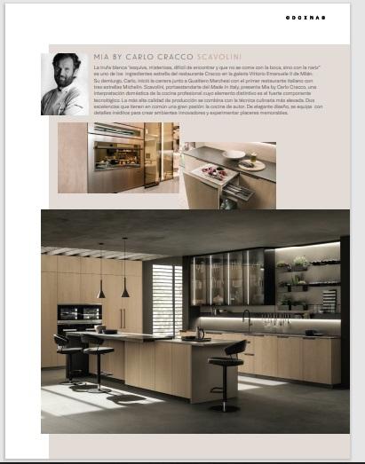 arquitectura y diseño cocina mia
