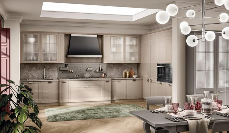 Cocinas para casas de campo modelo Carattere de Scavolini