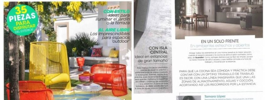 Ideas para distribuir tu cocina - Revista Interiores