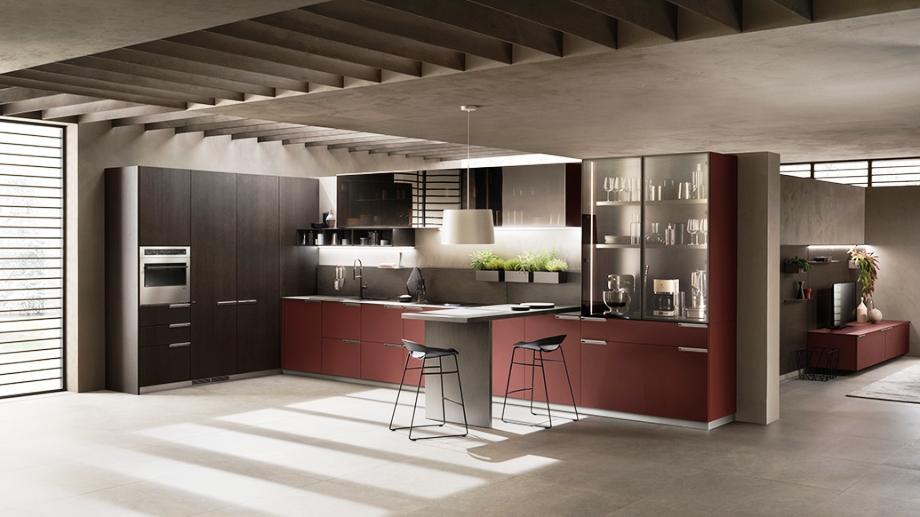 Armarios de cocina con iluminación interna