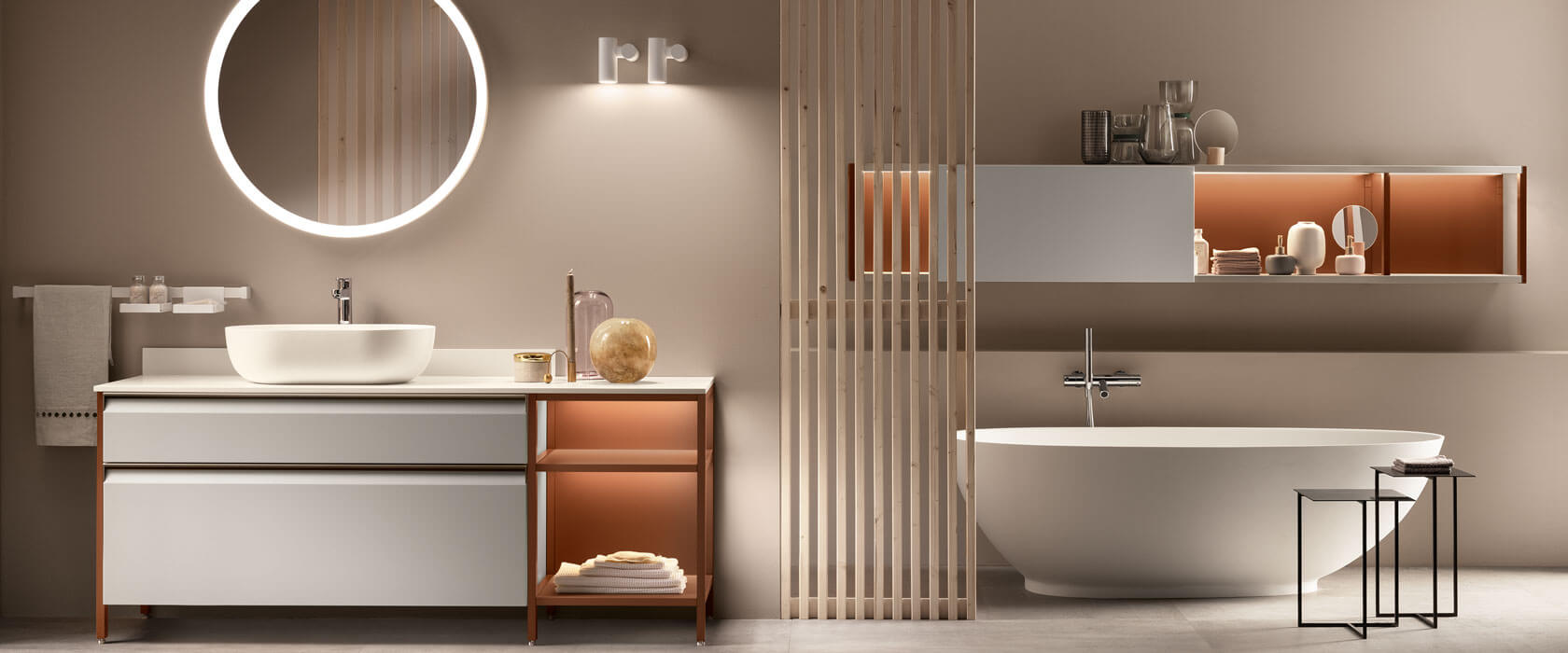 Baño de diseño Formalia - Scavolini