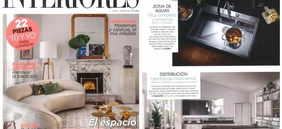 Ideas para distribución de elementos en cocinas - Interiores